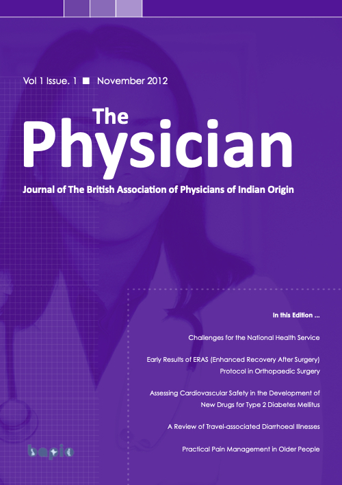 purple cover of The Physician